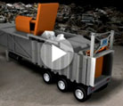 Scrap Metal Compactor: Animation